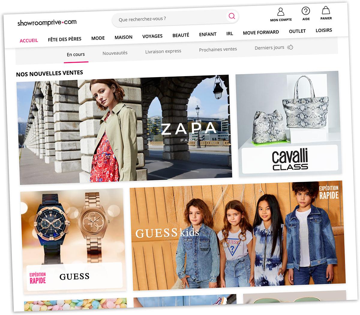 Nombreuses ventes quotidiennes, marques de qualité, service client réactif... Showroomprivé est le chouchou d'un nombre croissant d'e-shoppeurs